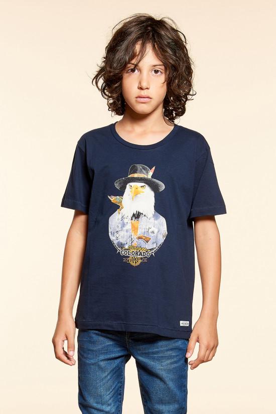 T-Shirt EAGLE Garçon W18140B (39511) - DEELUXE