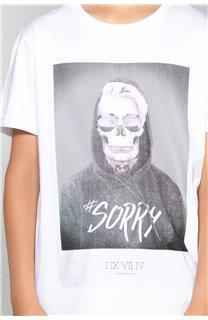 T-shirt T-shirt JUST Boy W18143B (39513) - DEELUXE-SHOP