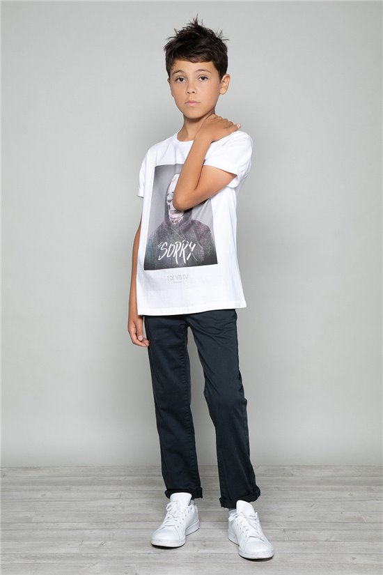 T-Shirt JUST Garçon W18143B (39525) - DEELUXE
