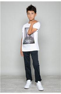 T-shirt T-shirt JUST Boy W18143B (39514) - DEELUXE-SHOP