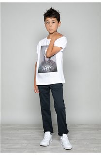 T-Shirt JUST Garçon W18143B (39514) - DEELUXE