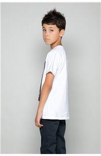T-shirt T-shirt JUST Boy W18143B (39515) - DEELUXE-SHOP