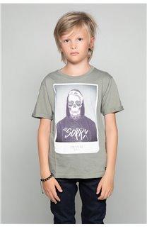 T-Shirt JUST Garçon W18143B (39516) - DEELUXE
