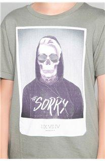 T-shirt T-shirt JUST Boy W18143B (39517) - DEELUXE-SHOP