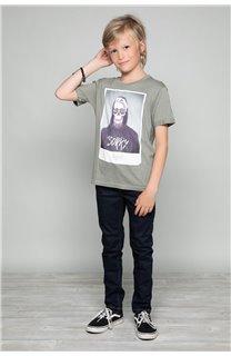 T-shirt T-shirt JUST Boy W18143B (39518) - DEELUXE-SHOP