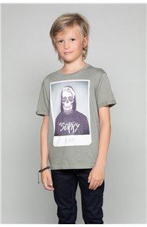 T-Shirt JUST Garçon W18143B (39520) - DEELUXE