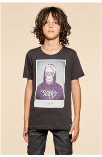 T-shirt T-shirt JUST Boy W18143B (39525) - DEELUXE-SHOP