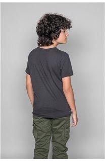 T-Shirt FLAGY Garçon W18160B (39547) - DEELUXE