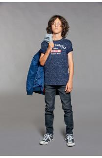 T-Shirt POLLOCK Garçon W18167B (39551) - DEELUXE