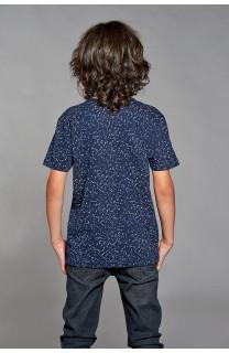 T-Shirt POLLOCK Garçon W18167B (39553) - DEELUXE
