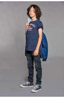 T-shirt T-shirt POLLOCK Boy W18167B (39554) - DEELUXE-SHOP