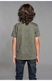 T-Shirt POLLOCK Garçon W18167B (39555) - DEELUXE