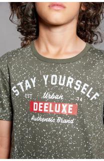 T-Shirt POLLOCK Garçon W18167B (39556) - DEELUXE