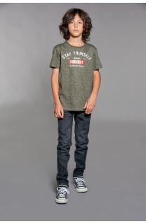 T-Shirt POLLOCK Garçon W18167B (39557) - DEELUXE