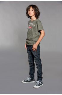T-Shirt POLLOCK Garçon W18167B (39558) - DEELUXE