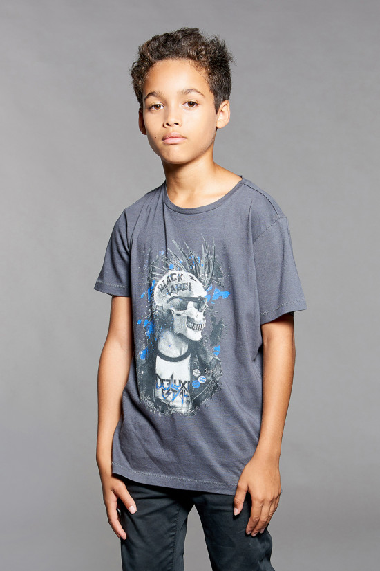 T-shirt ENFIELD Boy W18188B (39634) - DEELUXE-SHOP