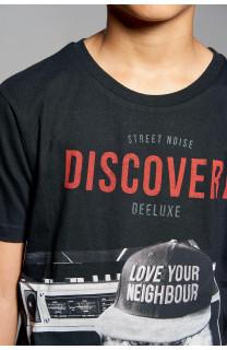 T-Shirt DISCOVERY Garçon W18192B (39644) - DEELUXE