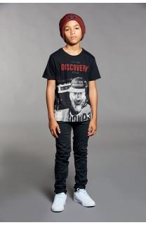 T-Shirt DISCOVERY Garçon W18192B (39645) - DEELUXE