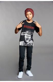 T-shirt T-shirt DISCOVERY Boy W18192B (39646) - DEELUXE-SHOP