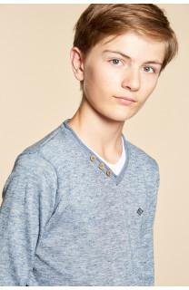 Sweater SWEATER SINGLE Boy W18316B (39676) - DEELUXE-SHOP