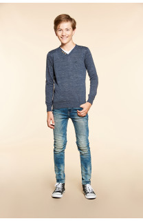 Pull SINGLE Garçon W18316B (39677) - DEELUXE