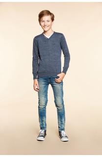 Sweater SWEATER SINGLE Boy W18316B (39677) - DEELUXE-SHOP