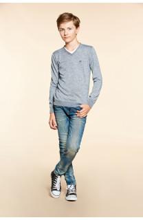 Sweater SWEATER SINGLE Boy W18316B (39681) - DEELUXE-SHOP