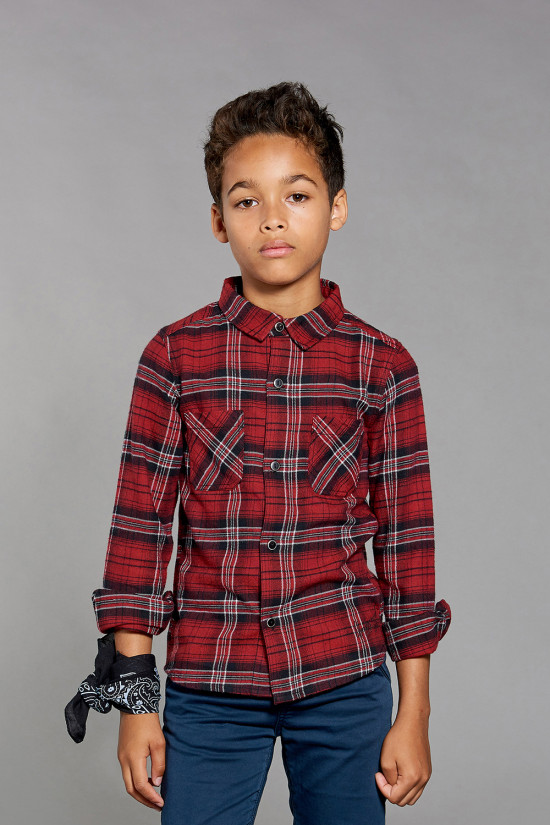Shirt Shirt JAGGER Boy W18421B (39744) - DEELUXE-SHOP