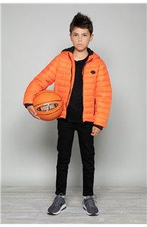 Puffy Jacket Puffy Jacket SUNSHINE Boy W18644B (39934) - DEELUXE-SHOP
