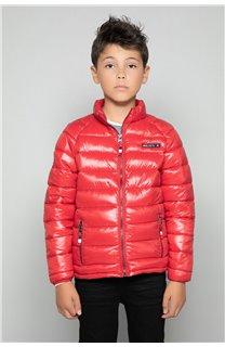 Puffy Jacket WAZZA Boy W18645B (39942) - DEELUXE-SHOP