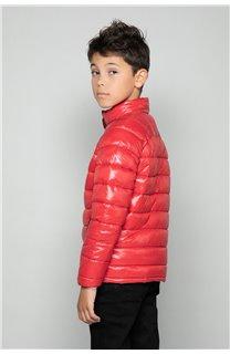 Puffy Jacket WAZZA Boy W18645B (39945) - DEELUXE-SHOP
