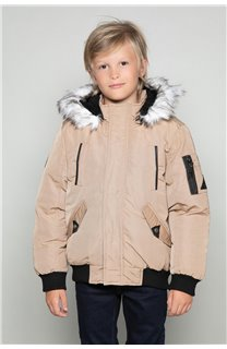 Parka JACKET SHARK Boy W18650B (39958) - DEELUXE-SHOP