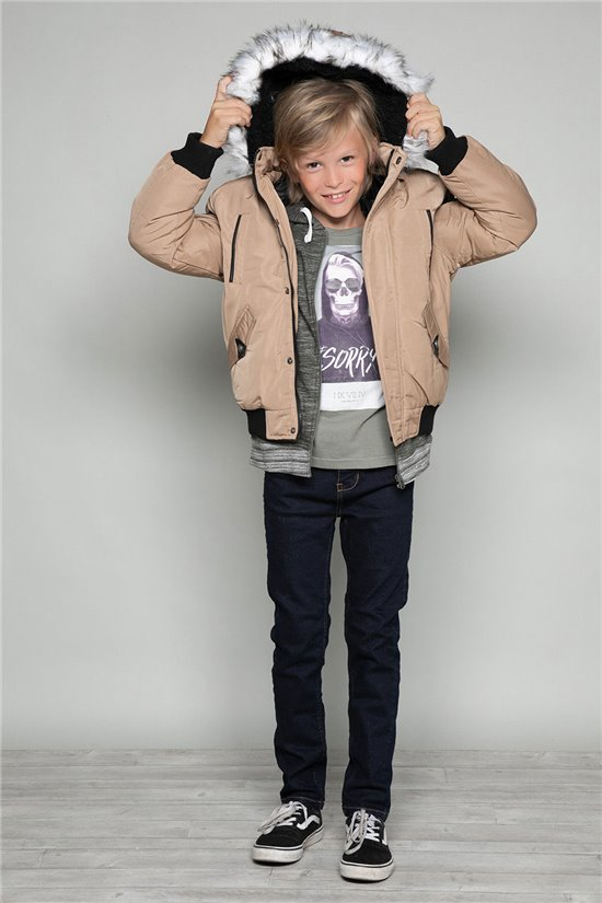 Parka JACKET SHARK Boy W18650B (39962) - DEELUXE-SHOP