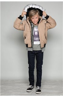 Parka JACKET SHARK Boy W18650B (39960) - DEELUXE-SHOP