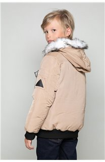 Parka JACKET SHARK Boy W18650B (39961) - DEELUXE-SHOP
