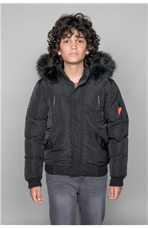 Parka JACKET SHARK Boy W18650B (39963) - DEELUXE-SHOP