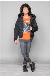 Parka JACKET SHARK Boy W18650B (39965) - DEELUXE-SHOP