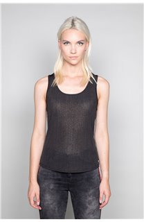 Tank Top TOP SHINY Woman W18164W (40025) - DEELUXE-SHOP