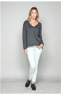 Sweater Sweater SACHA Woman W18314W (40121) - DEELUXE-SHOP