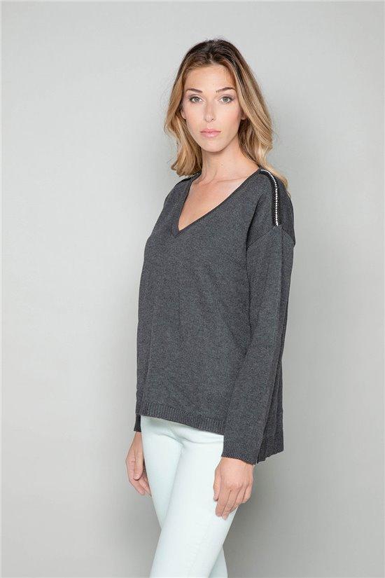 Sweater Sweater SACHA Woman W18314W (40123) - DEELUXE-SHOP