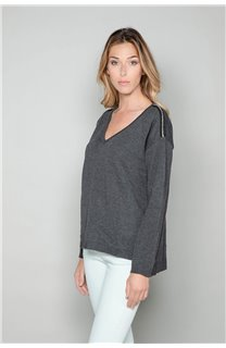 Sweater Sweater SACHA Woman W18314W (40123) - DEELUXE-SHOP