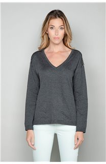 Sweater Sweater SACHA Woman W18314W (40124) - DEELUXE-SHOP