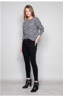 Sweater Sweater CHARLY Woman W18315W (40126) - DEELUXE-SHOP