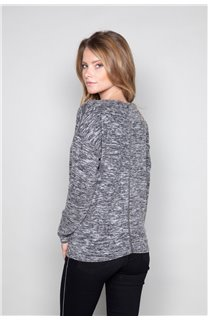 Sweater Sweater CHARLY Woman W18315W (40127) - DEELUXE-SHOP