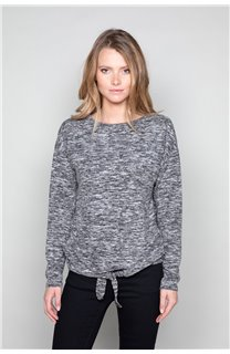 Sweater Sweater CHARLY Woman W18315W (40129) - DEELUXE-SHOP