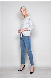 Sweater Sweater CHARLY Woman W18315W (40131) - DEELUXE-SHOP