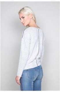 Sweater Sweater CHARLY Woman W18315W (40132) - DEELUXE-SHOP