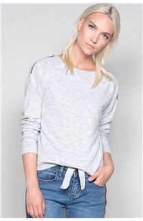 Sweater Sweater CHARLY Woman W18315W (40133) - DEELUXE-SHOP