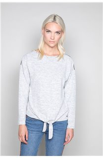 Sweater Sweater CHARLY Woman W18315W (40134) - DEELUXE-SHOP