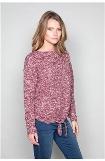 Sweater Sweater CHARLY Woman W18315W (40138) - DEELUXE-SHOP